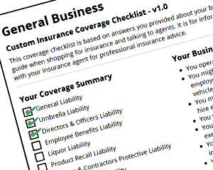 general-business-coverage-checklist