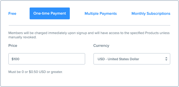 payment options - stripe paypal skrill