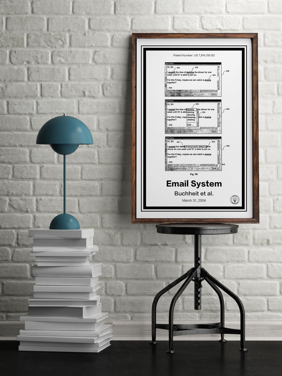 """GMAIL"" Print from Retro Patents"