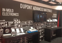 Exhibitor DuPont Highlighting In-Mold Electronics at the IDTechEx Show!