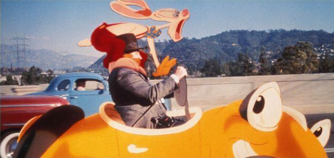 """""""That lame-brained freeway idea could only be cooked up by a Toon."""" – Eddie Valiant, """"Who Framed Roger Rabbit,"""" Touchstone Pictures, 1988"""
